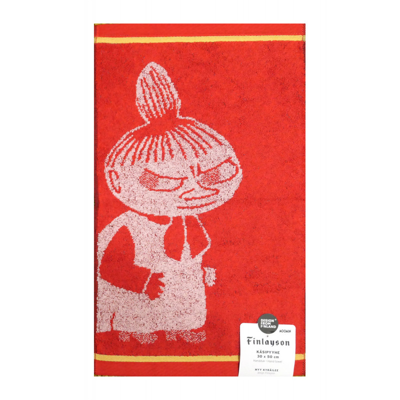 Moomin Hand Towel Littlee My Red 30 x 50 cm Finlayson