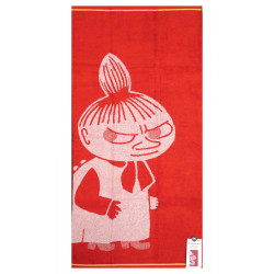 Moomin Bath Towel Little My Red 70 x 140 cm Finlayson