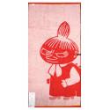 Moomin Bath Towel Little My Red 70 x 140 cm Finlayson
