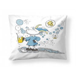 Mr. Clutterbuck Bubbles Pillowcase 50 x 60 cm Finlayson