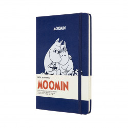 Moomin Moleskine Notebook Limited Edition Blue Lined Paper