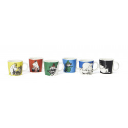 Moomin Collectors Minimug Classics Set no 1 6 pcs