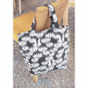 Moomin Nana Shopping Bag Waterlily 45 x 36 x 14 cm Martinex