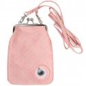 Moomin Vinssi Pouch Purse Moomin logo Pink