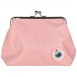 Moomin Emma Purse Clutch Bag Moomin logo pink