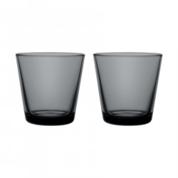 Kartio Dark Grey 2 pcs 0.21 L Iittala