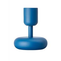 Iittala Nappula Candle Holder Dark Blue 10.7 cm