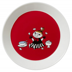 Moomin Plate 19 cm Little My Red New 2015 Arabia