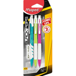 Maped Long Life Set of 3 Mechanical Pencil 0.7