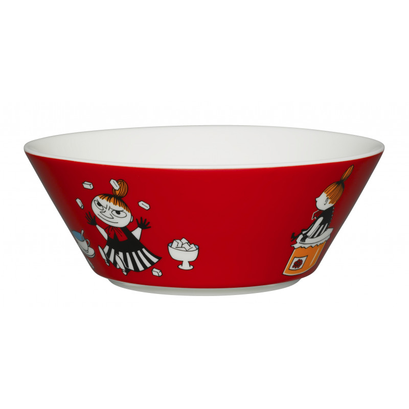 Moomin Bowl 15 cm Little My Red New 2015 Arabia