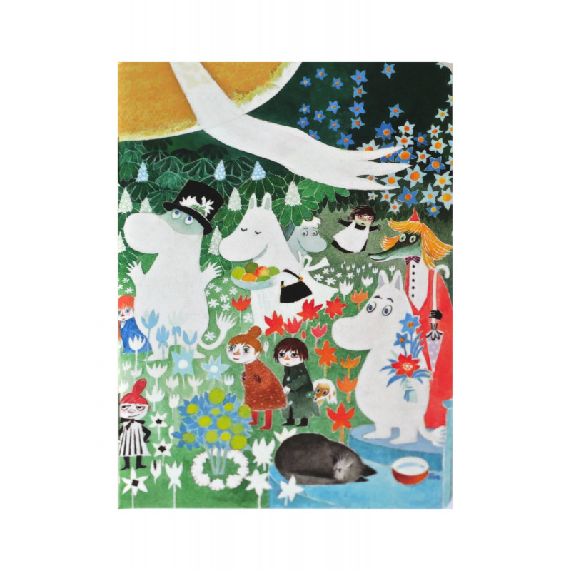 Moomin Small Notebook Dangerous Journey 9 x 12 cm