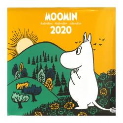 Moomin 2020 Wall Calendar Putinki 30 x 30 cm