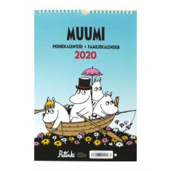 Moomin 2020 Family Calendar Putinki 23 x 34 cm