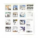 Moomin 2020 Mini Wall Calendar Putinki 20 x 20 cm