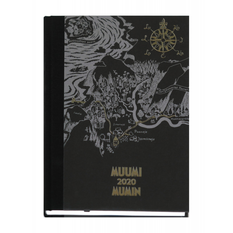 Moomin Hardcover Calendar Weekly Planner 2020