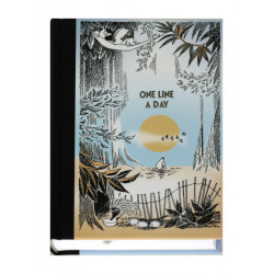 Moomin Journal 5 Years One Line A Day Putinki