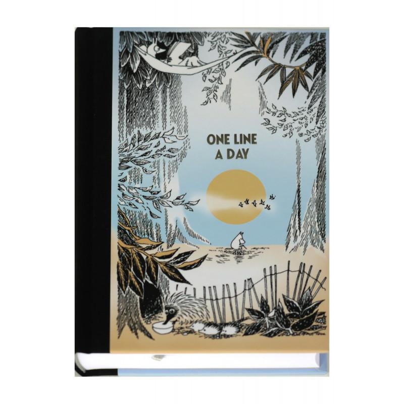Moomin Journal 5 Years One Line A Day Putinki