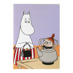 Moomin Notebook A5 Moominmama and Little My
