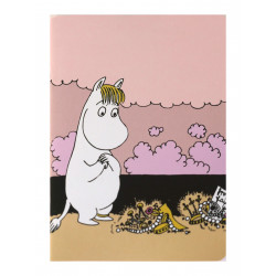 Moomin Notebook A5 Snorkmaiden on the Beach