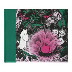 Moomin Clothbound Hardback Ruby Notebook Putinki 20.5 x 16.5 cm