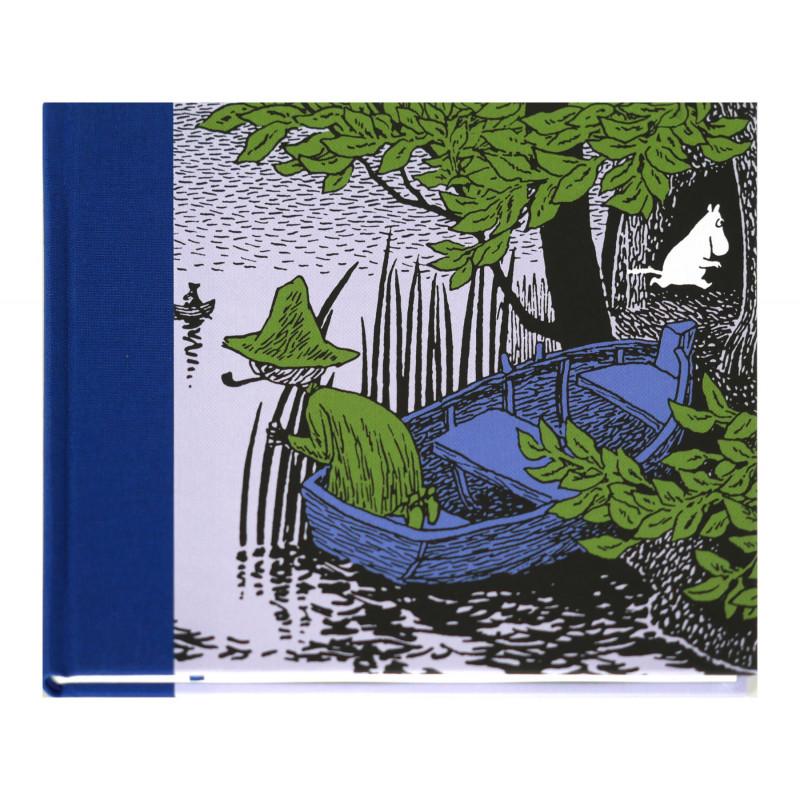 Moomin Clothbound Hardback Notebook Moomintroll and Snufkin Putinki 20.5 x 16.5 cm