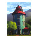 Moomin Notebook A5 Gutsy Moomin House