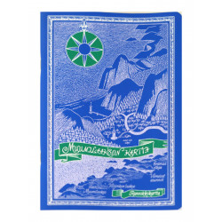 Moomin Notebook A5 Moominvalley Map Blue
