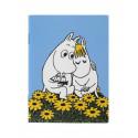 Moomin Small Notebook Love Moomintroll Snorkmaiden 9 x 12 cm