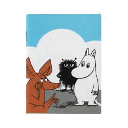 Moomin Small Notebook Stinky Sniff Moomintroll 9 x 12 cm