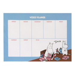 Moomin Weekly Planner 52 Identical Sheets Comics Moomimamma and Moomintroll