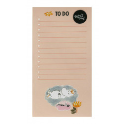 Moomin To Do List 52 Identical Sheets Gloss Pictures