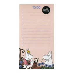 Moomin To Do List 52 Identical Sheets Snorkmaiden and Moomintroll