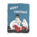 Moomin Greeting Card Letterpressed Christmas Present