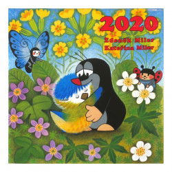 The Mole 2020 Wall Calendar Putinki 30 x 30 cm