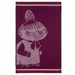 Moomin Hand Towel Little My Purple 30 x 50 cm Finlayson