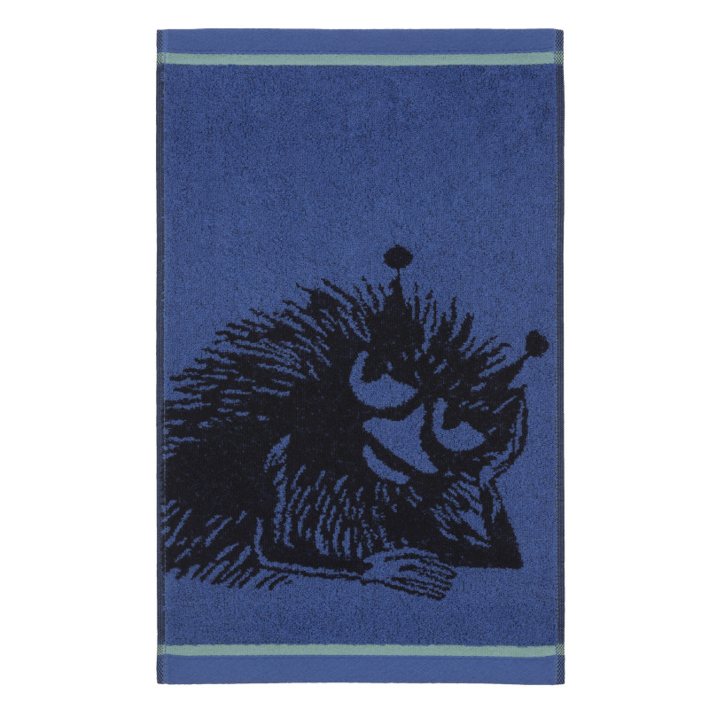 Moomin Hand Towel Stinky Hang-out Blue 30 x 50 cm Finlayson
