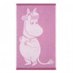 Moomin Hand Towel Snorkmaiden Love Pink 30 x 50 cm Finlayson