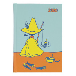 Moomin Weekly Planner 2020Snufkin A5 Bound Oursea