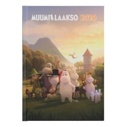 Moomin Weekly Planner Calendar 2020 Moominvalley A5