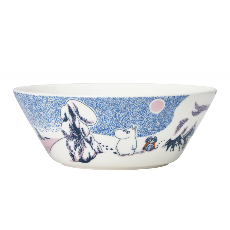 Moomin Seasonal Bowl Crown Snow Load Winter 2019 15 cm