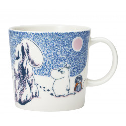 Moomin Seasonal Mug Crown Snow Load Winter 2019 0.3 L
