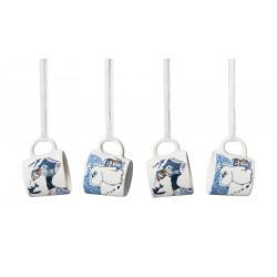 Moomin Minimugs Crown Snow Load Set 4 pcs