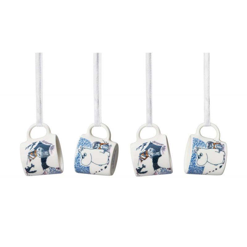Moomin Minimugs Crown Snow Load Set 4 pcs