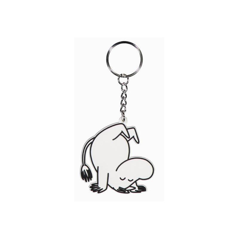 Moomin Keyring Soft Moomintroll