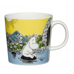 Moomin Mug Moment on the Shore Summer 2015 Arabia