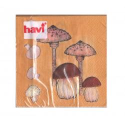 Havi Paper Napkin Mushrooms...