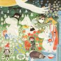 Moomin Napkins on the Medow Niitylla 33 cm Suomenkerta