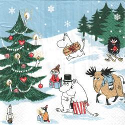 Moomin Napkins Christmas...