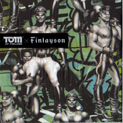 Tom of Finland Back Street Napkins 33 cm Finlayson