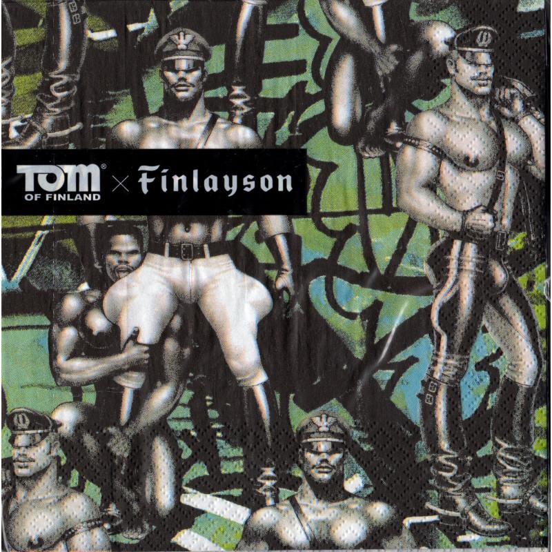 Tom of Finland Back Street Napkins 33 cm Finlayson